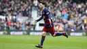 Leo Messi celebrating at Camp Nou against Deportivo / MIGUEL RUIZ - FCB