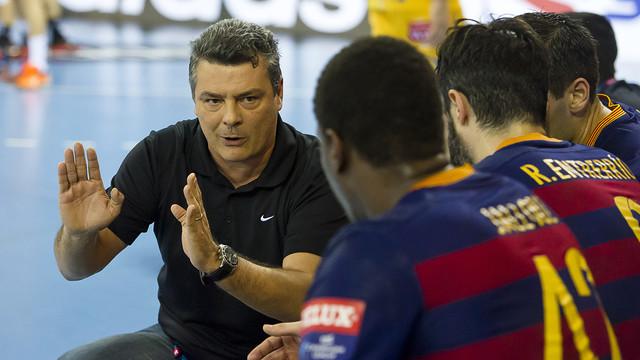 Pascual ha valorat el retorn a la competició / FOTO:VÍCTOR SALGADO-ARXIU FCB