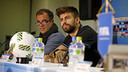 Gerard Piqué in the pre-game press conference ahead of semi-final against Guangzhou Evergrande / MIGUEL RUIZ - FCB