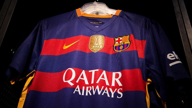 9b77ed329bb FC Barcelona to debut world champions badge against Betis. FC Barcelona  will wear the new emblem in ...