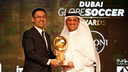 FC Barcelona was named Best Club of the Year. / Globe Soccer Awards