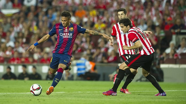Neymar, lors de la finale de l'an passé face à Bilbao / Miguel Ruiz FCB