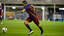 Dani Romera scored his first goals for the club / ARXIU-FCB