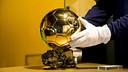 Messi's fifth Ballon d'Or can be seen at the FCB Museum. / SANTIAGO GARCÉS - FCB