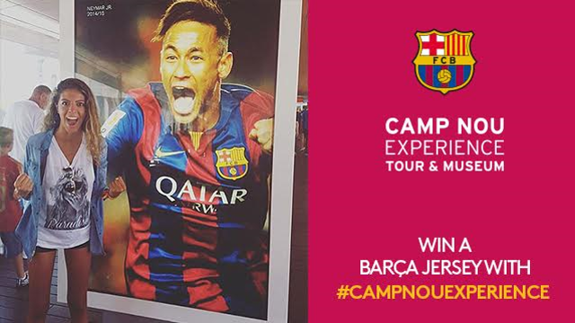 December winner of the Camp Nou Experience competition/ FCB