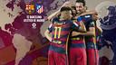 Horaris internacionals del FC Barcelona - Atlètic de Madrid / FCB