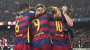 Barça celebrating against Athletic on Wednesday / MIGUEL RUIZ - FCB