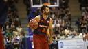 Navarro, in action on Sunday in Santiago / ACBMEDIA
