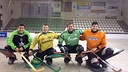 Glowka in green with his team mates from Cerdanyola