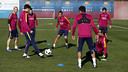 The Barça players are ready for the next stage of their cup run / FCB