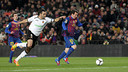 Leo Messi in the first leg of the semi-final in 2011/12 against Valencia / VICTOR SALGADO - FCB