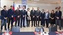Representatives ofl FCB, ROTA and Unicef at a recent meeting / GERMÁN PARGA / FCB