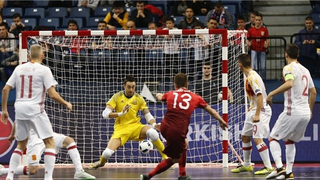 Sedano fue fundamental en la victoria ante Portugal