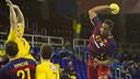 Jallouz shooting during the game / VICTOR SALGADO