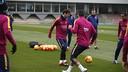 Leo Messi est revenu à l'entrainement / MIGUEL RUIZ - FCB