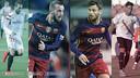 Aleix Vidal and Moisés Delgado both joined from Sevilla last summer / FCB
