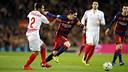 Leo Messi during the game against Sevilla / MIGUEL RUIZ / FCB