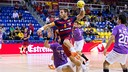 Víctor Tomás in action against Guadalajara at the Palau / VICTOR SALGADO - FCB