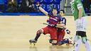 Álvarez grabbed three of the team's six goals / FCB