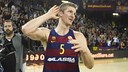 Doellman got a standing ovation after hitting the game-winning shot late in overtime. / VÍCTOR SALGADO-FCB