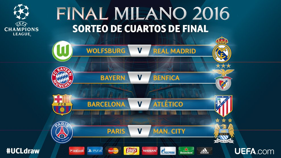 FC Barcelona to face Atlético Madrid in Champions League quarter ...