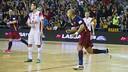 Ferrao tied the game 23 seconds from time. / VÍCTOR SALGADO-FCB