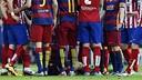 Barcelona beat Atlético 2-1 when they met in La Liga in January / FCB