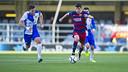 Rafa Mujica scores his first goal for the reserves / VÍCTOR SALGADO - FCB