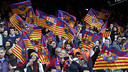 The FC Barcelona fans are eager to see their side in May's Copa del Rey final / MIGUEL RUIZ - FCB