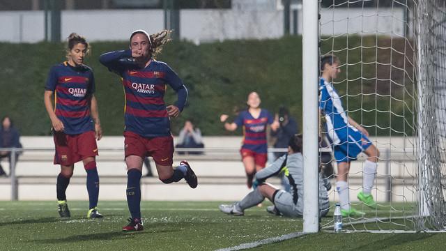 Hat-trick de Pilar / VÍCTOR SALGADO-FCB