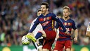 Messi reached yet another milestone for Barça on Sunday night. / MIGUEL RUIZ-FCB