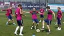 Entrenament dia 18 d'abril / MIGUEL RUIZ-FCB