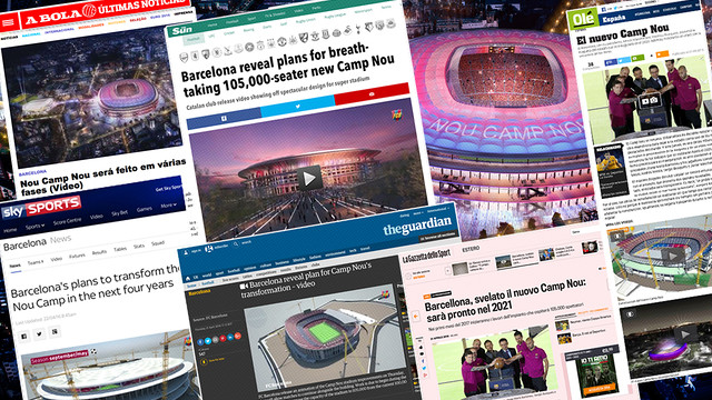 A selection of reactions from the global media / FCB