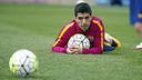 Luis Suárez entrenament