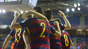 Aicardo scored the first of four for Barça Lassa / VÍCTOR SALGADO - FCB