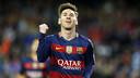 Leo Messi celebra el seu gol / MIGUEL RUIZ - FCB