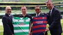 Monday's presentation was held at Aviva Stadium in Dublin, Ireland. / CELTIC