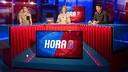 Gerard Gumbau, con Cristina Collado y Marc Marbà en Barça TV / VICTOR SALGADO-FCB
