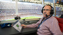 Manel Vich in the stadium where his voice has been heard so many times / GERMÁN PARGA-FCB