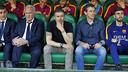 ベニト・ビジャマリンのベンチに座るルイス・エンリケ / MIGUEL RUIZ - FCB