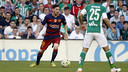 Leo Messi made both goals against Betis / MIGUEL RUIZ - FCB