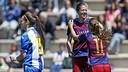 El Barça Femenino ha superado claramente al Espanyol / MIGUEL RUIZ - FCB