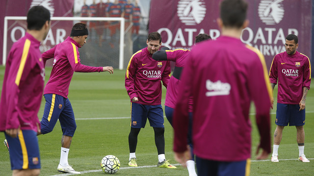 The team is gearing up to face local rivals Espanyol / MIGUEL RUIZ - FCB