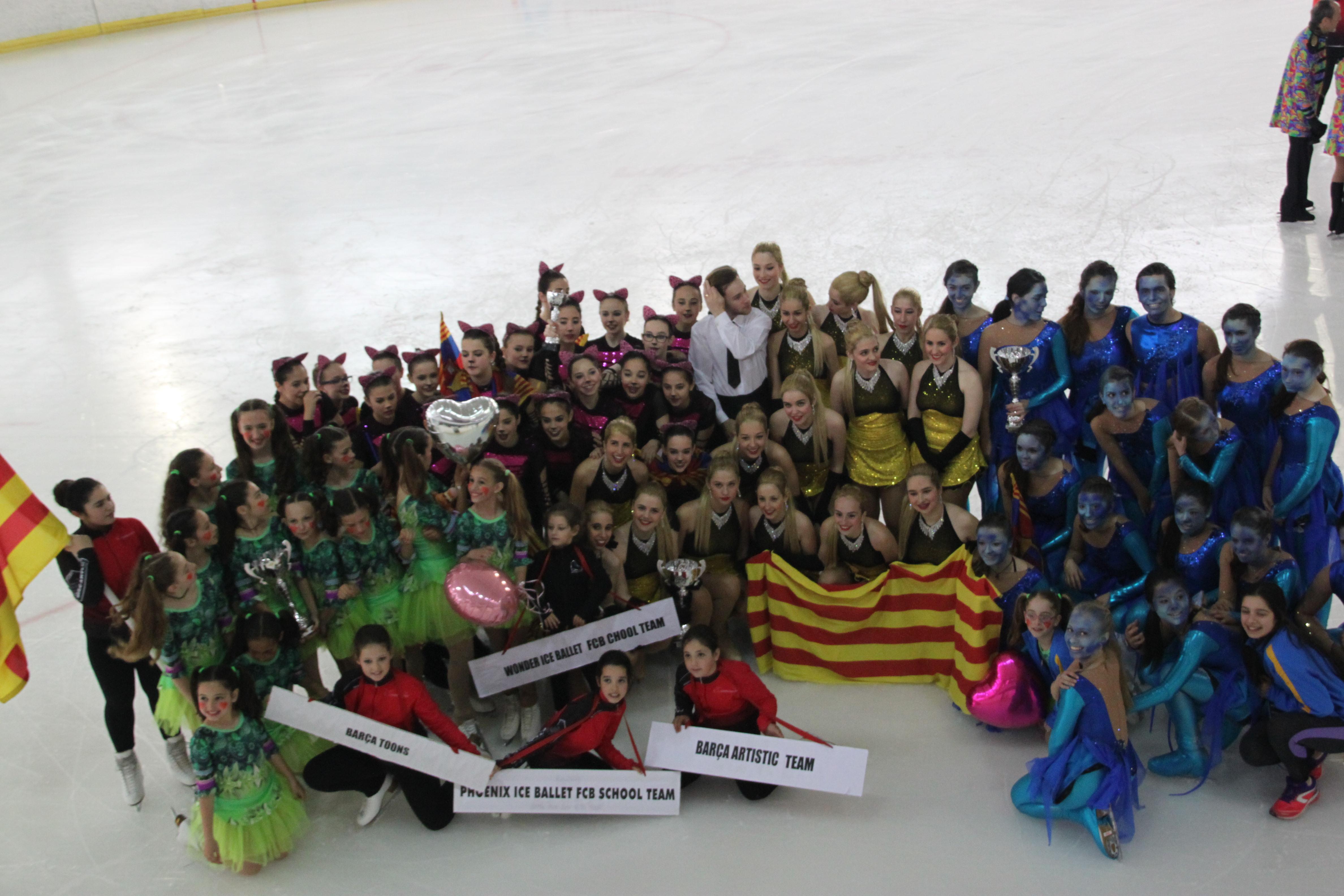 Campeones de España de Ballet sobre hielo! - FC Barcelona