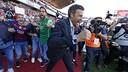 Luis Enrique celebrates the 24th title / MIGUEL RUIZ - FCB