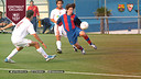 Leo Messi va marcar quatre gols al Sevilla en època juvenil / ARXIU FCB