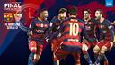 Les horaires du dernier match de la saison / FCB