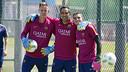 Ter Stegen, Bravo i Masip, els tres porters del Barça / MIGUEL RUIZ - FCB