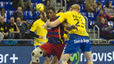 Jallouz in action when the sides met at the Palau / VÍCTOR SALGADO-FCB