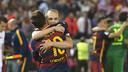 Messi et Iniesta, joueurs les plus titrés du FC Barcelone/ VÍCTOR SALGADO - FCB